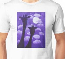Giraffes at Nightfall Unisex T-Shirt