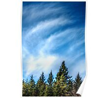 Winter Clouds III Poster