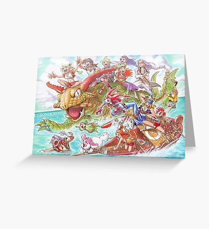 Chrono Cross: Swim Greeting Card