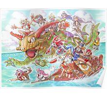 Chrono Cross: Swim Poster