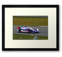 Toyota Racing No 8 Framed Print