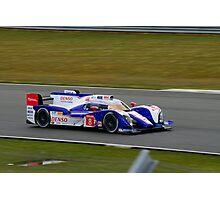 Toyota Racing No 8 Photographic Print