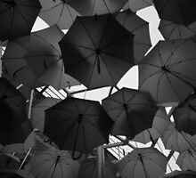 Borough Market Umbrella's by MikeMcM