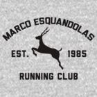 Marco Esquandolas Running Club by Jonny Cottone