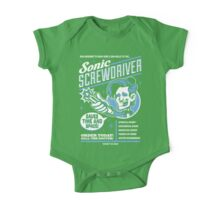 Sonic Screwdriver Ad One Piece - Short Sleeve