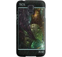 FRACTAL DREAMS - Front Cover Samsung Galaxy Case/Skin