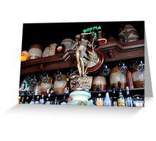 Café Slijterij Oosterling - Beer Tap Top Greeting Card