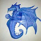 Indigo Dragon  by AutumnRain17
