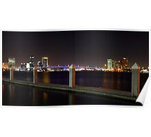 Downtown Jacksonville Poster