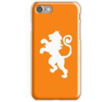 Dutch Lion Reverse Color iPhone Case/Skin