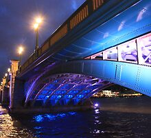 Bridge over Southwark Water by BlackhawkRogue