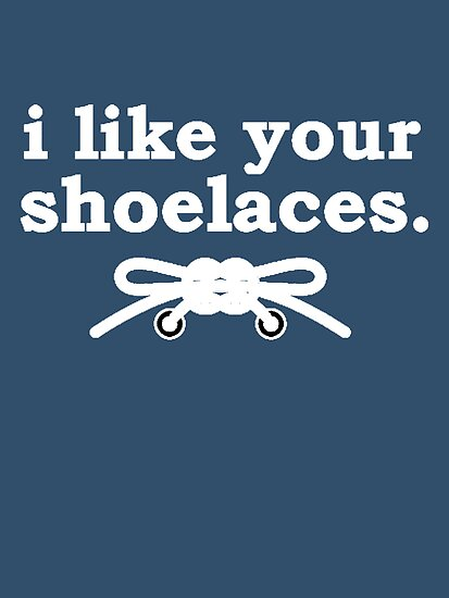 I like your shoelaces... by tothebarricades