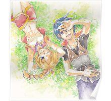 Chrono Cross: Serge and Kidd Poster