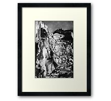 Screwing the Planet. Framed Print