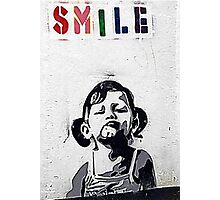 Banksy Poster. Photographic Print