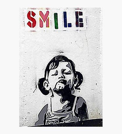 Banksy Poster. Photographic Print