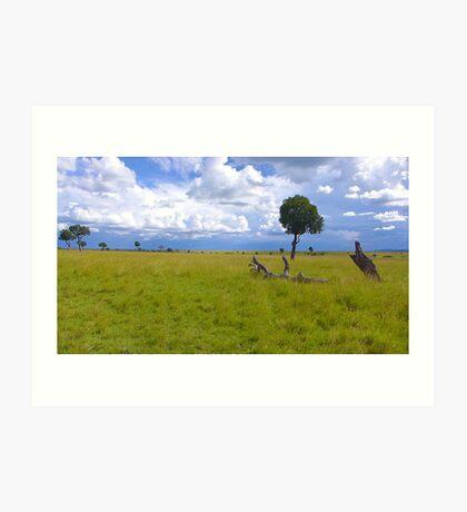 Masai Mara 4 Art Print