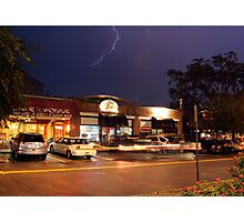 Riverside 5-Points Lightning Photographic Print