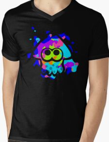 Splatoon Squid Mens V-Neck T-Shirt