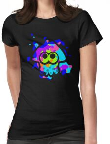 Splatoon Squid Womens Fitted T-Shirt