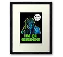 Old Gregg Framed Print
