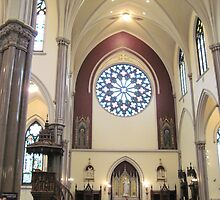 Transept, St. Louis Church, Buffalo by Ray Vaughan