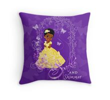 "Princess Aniya Collection ""Sparkle and Shimmer!"" Throw Pillow"
