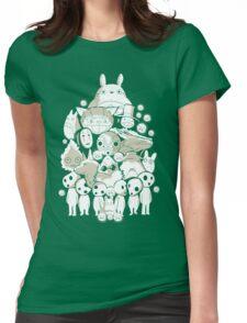 My neighborhood friends Womens Fitted T-Shirt