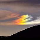 Sun Dog over Dog Skin Mountain by SB  Sullivan