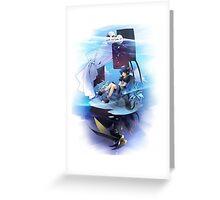 Chrono Cross: Serge and Lynx Greeting Card