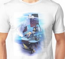 Chrono Cross: Serge and Lynx Unisex T-Shirt