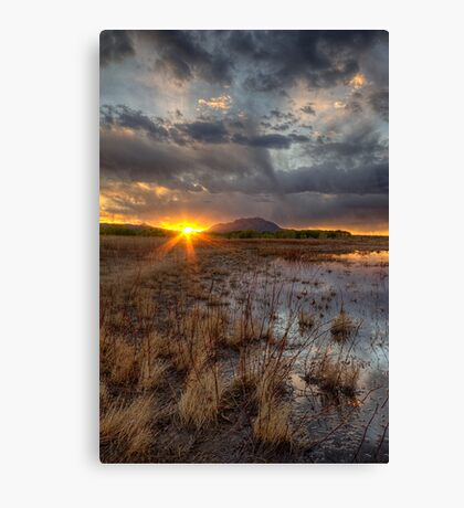 Elements of Sunset 2 Canvas Print
