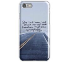 Taylor Swift Quote II iPhone Case/Skin
