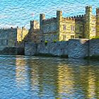 Leeds Castle in Oils by SMCK
