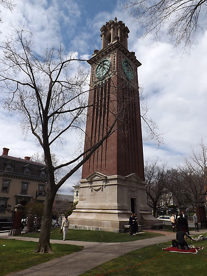 Carrie Tower, Brown University, Providence, Rhode Island by iheartrhody