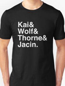 Kai & Wolf & Thorne & Jacin. (inverse) T-Shirt