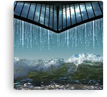 Heaven´s Crying Canvas Print