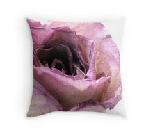 Don't Forget To Smell The Roses Throw Pillow