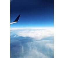 Troposphere Views - Airplane Sky View Photography Photographic Print