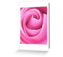 Pink Rose - Rectangle format Greeting Card