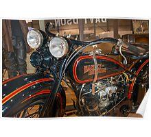 1929 Harley DL Poster