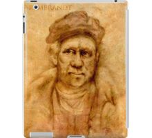 Rembrandt from his self portrait iPad Case/Skin