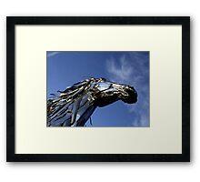 Steel Stallion Framed Print