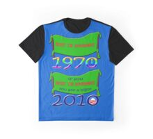 Resist the Government - 1970 - 2010 Graphic T-Shirt
