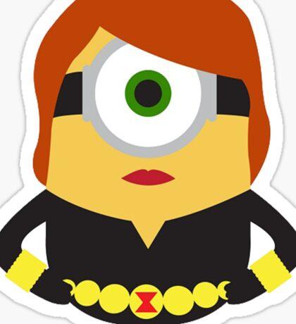 Black Widow Shirt Sticker