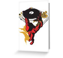 Keep the music up Greeting Card