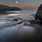 Moon Over Black Point by Jon Yager