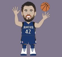 NBAToon of Kevin Love, player of Minnesota  Timberwolves by D4RK0