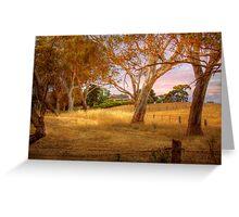 Dawsley II, Adelaide Hills SA Greeting Card