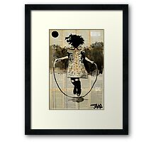 childhood (dancing with gravity) Framed Print